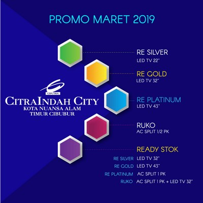 promo maret 2019 Citraindah city