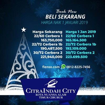 Christmas Sale CitraIndah City
