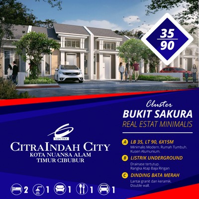 Sakura 35/90 Citraindah city