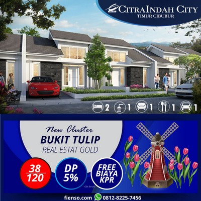 tulip 38/120 CitraIndah City